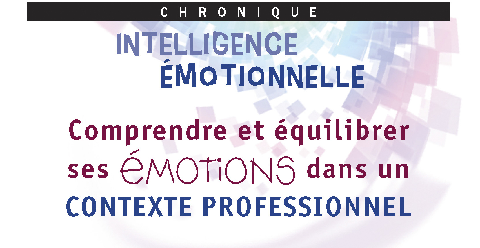 ppno48 intelligence émotionnelle comprendre équilibrer ses emotions
